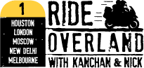 Ride Overland With Kanchan & Nick